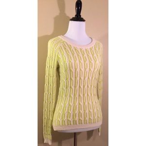Breathtaking Willow & Clay Cableknit Sweater XS